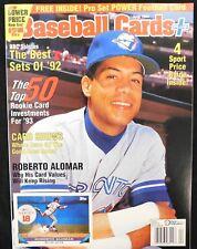 Roberto Alomar (Toronto Blue Jays) 1993 Baseball Cards Plus Price Guide Magazine