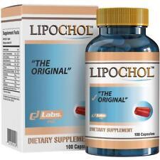 LIPOCHOL Natural Liver Cleanser Detox Supplement Cleanse & Support Liver Health