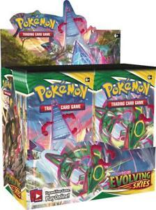Evolving Skies Booster Box Factory Sealed Sword & Shield Pokemon TCG