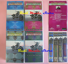 BOX 4 VHS CALIFORNIA SCREAMIN' BYRDS SANTANA EAGLES DOORS JANIS JOPLIN no(VM1)