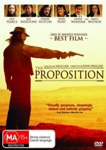 Proposition DVD 2005 Movie Written by Nick Cave - Guy Pearce - John Hurt