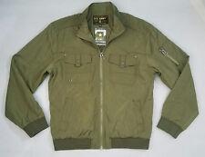 NEW U.S ARMY STRONG Men's Olive Green Lightweight Fall Jacket Sz XL