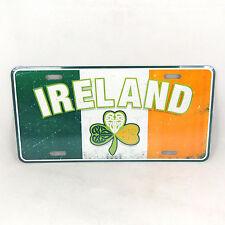 Placa Irlandés Tricolor American Reg