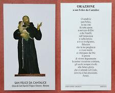 Santino Holy Card: San Felice da Cantalice - Morcone