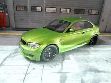 BMW 1er Reihe M Sport M1 1M grün green E82 2011 Sonderpr GT Spirit Resin 1:18