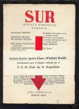 Revista SUR  nº 280 - 1963 - Graham Greene Donoso etc