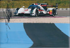 Andre LOTTERER AUDI RARE WEC FIA Endurance Signed Photo Autograph AFTAL COA