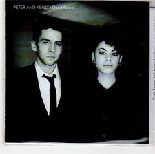 (EH834) Peter And Kerry, I Don't Know - 2012 DJ CD