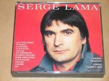 BOITIER 2 CD / SERGE LAMA / VERSIONS ORIGINALES / TRES BON ETAT