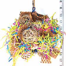 Free Shipping! Tiki Tangler Foraging Shredder - bird toys & parrot toy parts
