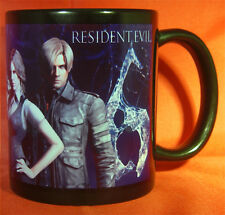 RESIDENT EVIL 6 Coffee MUG CUP - RE6 Biohazard - Leon - Chris - Jake