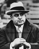 8x10 Al Capone PHOTO Chicago Gangster Cool Hat Poster Art Print