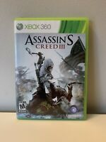 Assassin's Creed III (Microsoft Xbox 360, 2012)
