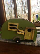 Handcrafted Vintage Retro RV birdhouse~Functional or Decorative