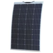 120W Reinforced semi-flexible solar panel with ETFE coating (German solar cells)