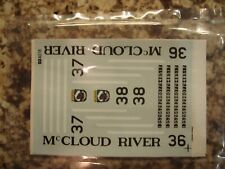 McCloud River Diesel Decals Microscale MC-4018