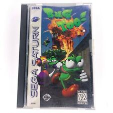 BUG TOO! (Sega Saturn, 1996) COMPLETE - TESTED
