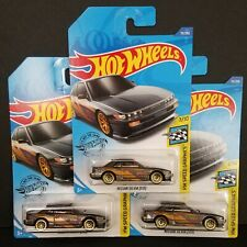 2020 Hot Wheels NISSAN SILVIA S13 111/250 HW SPEED GRAPHICS 7/10 ~ Lot of 3