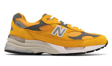 NEW BALANCE 992 M992 M992BB YELLOW GRAY WHITE MADE IN USA Size 8 - 13 NEW