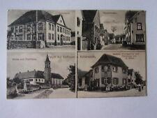 Ansichtskarte Weil bei Endingen Hauptstraße Schule Handlung Post  (Nr.664)