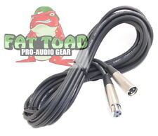 Xlr Microphone Cable 20Ft - Fat Toad Wire Cord Female Male 3 Pin Recording Pa