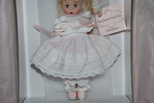Making Memories Porcelain Wendy 8'' Ltd Ed  Doll by Madame Alexander NRFB