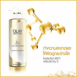 Olay Body Crèam Wash Brightening Vitamin C & Vitamin B3 Shower Bath Unisex 500ml