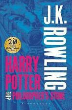 Harry Potter and the Philosopher's Stone (Harry Potter 1 Adult Cover) - New Book