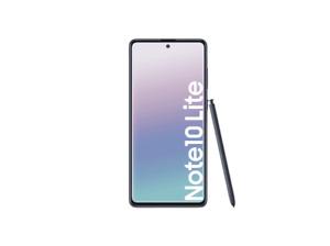 SAMSUNG Galaxy Note10 Lite Smartphone 128 GB Fingerabdruckscanner Aurora Black