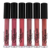 6 PCs set Kleancolor Madly Matte Liquid LipGloss Lipstick LG1818
