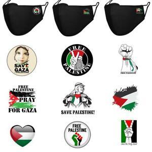 Palestine Free Printed Face Cover Unisex Gaza Freedom 2021 Masks
