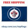 Deluxe Winnipeg Jets Logo Flag Banner 3x5 ft 2019 NHL Hockey Fan Gift NEW