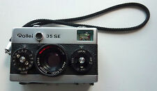 Rollei 35 SE, HFT Sonnar 2.8 / 40mm, vgc, leather case, batteries, UV filter etc
