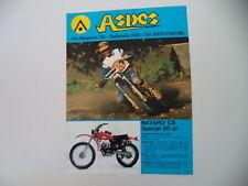 advertising Pubblicità 1976 MOTO ASPES NAVAHO CS SPECIAL 50