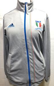 Adidas Italia Tracksuit Full Zipped Top UK Adult Medium