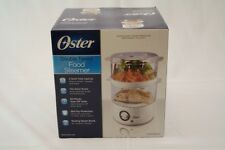 Oster Ckststmd 5-W 5-Quart Food Steamer White Power Indicator Light