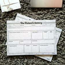 'The patient's history' notepad - perfect for medical/healthcare students
