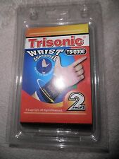 """Set of 2 Trisonic Wrist Support  ** NEW Support Athletic 6"""" Small"""