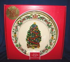Lenox Christmas Trees Around The World 2013 Jamaica Plate w/ Box