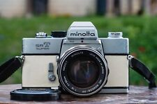 Restored & Film Tested Minolta SRT Super Camera w/ MC Rokkor PF 58mm f1.4 lens
