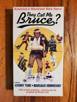 They Call Me Bruce? Johnny Yune Hemingway 1982 VHS RARE HTF OOP ZANY CAMPY LEE