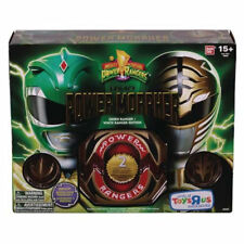 Mighty Morphin Power Rangers Legacy Morpher Green & White Edition* PREORDER*