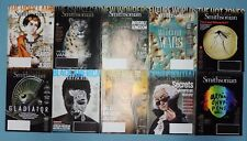 SMITHSONIAN ~ 2016 FULL YEAR ~ 10 (of 10) issues ~ V/G++
