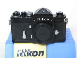 "Nikon F black body with eye level prism finder, US SELLER ""NICE"" LQQK"