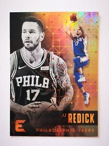 Panini Essentials 2017-18 card carte NBA Philadelphia 76ers #115 JJ Redick