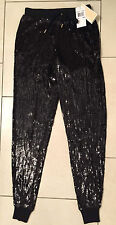 MICHAEL MICHAEL KORS Sequinned Jogging Bottoms/Track Pants - XXS - RRP £245 New