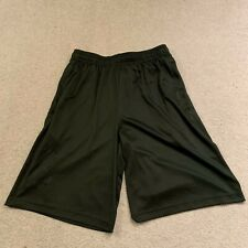 Under Armour Heatgear men's gym sports fitness shorts in green - small size