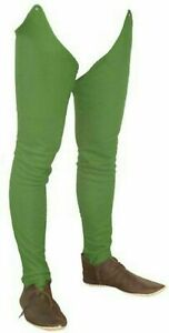 Functional Medieval Gambeson Leg Armour Cotton Padded Leggings