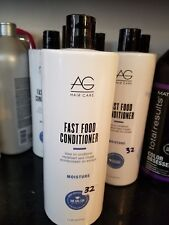 AG Hair Fast Food Leave On Conditioner  33.8 Fluid Ounce 1 Liter