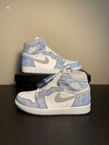 Nike Air Jordan 1 Retro High OG 'Hyper Royal' 555088-402 Men's Size 9.5